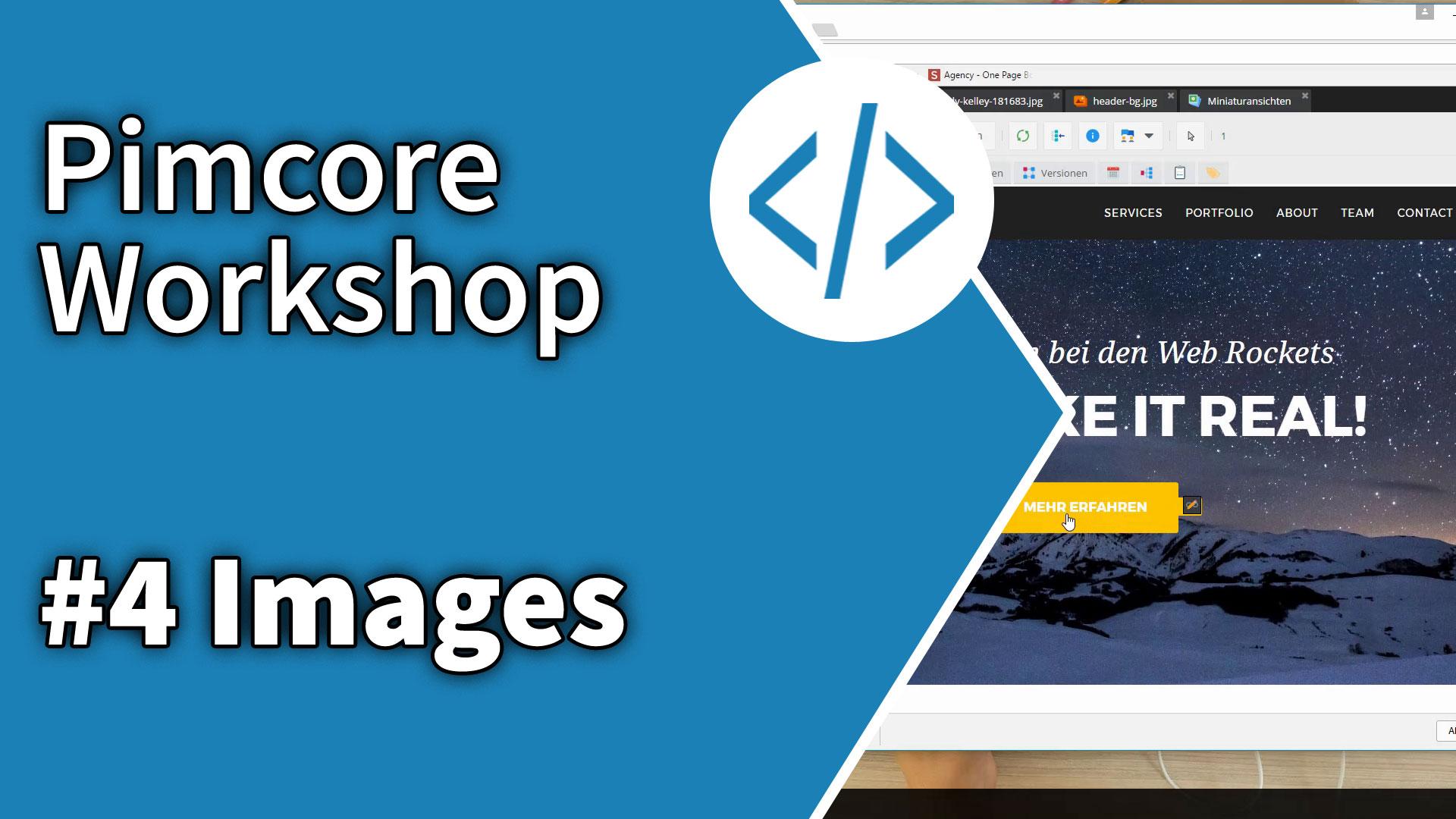 Pimcore Workshop #4: Images