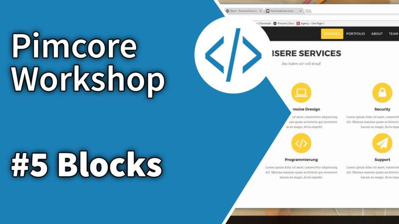 Pimcore Workshop Blocks