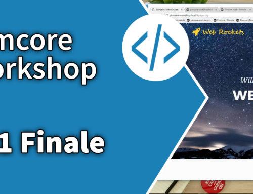 Pimcore Workshop: Finale