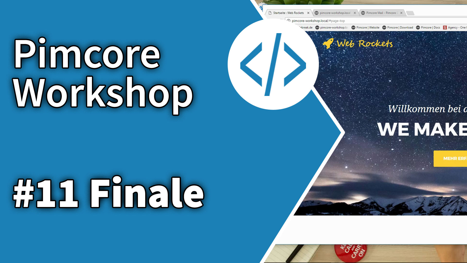 Pimcore Workshop Finale