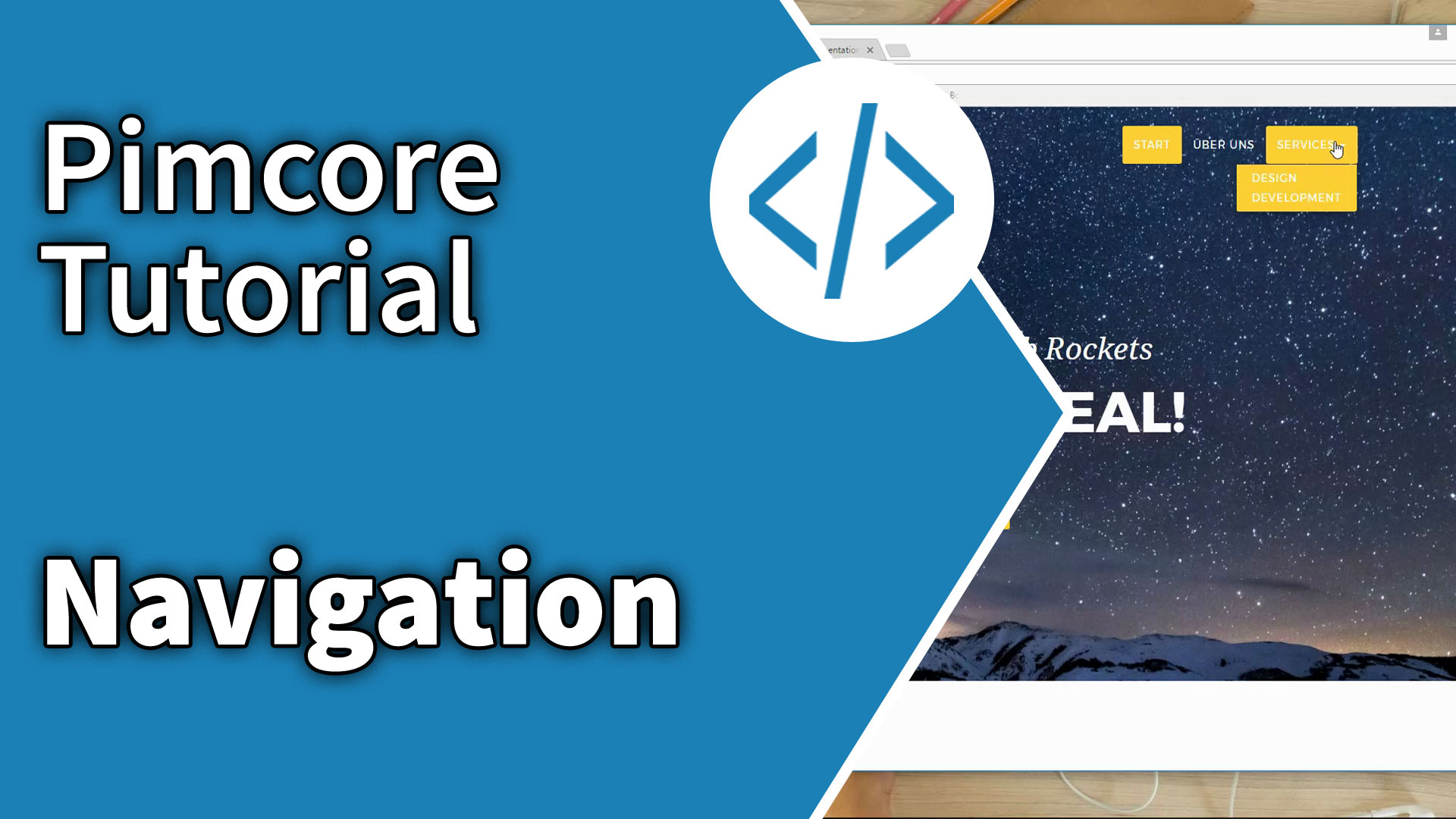 Pimcore Tutorial: Navigation